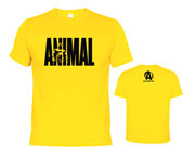 ANIMAL T-SHIRT ICONIC POLERA ENTRENAMIENTO (M) YELLOW